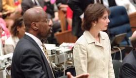 Prosecutors in the O.J. Simpson murder trial Chris