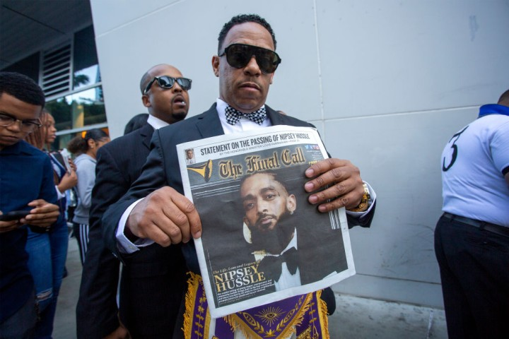 Nipsey Hussle's Celebration Of Life And Funeral Procession In Los Angeles