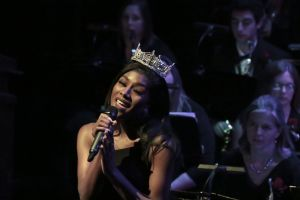 Miss America Performs With South Jersey Area Wind Ensemble