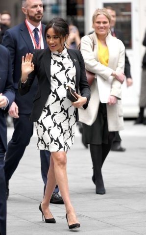 The Duchess Of Sussex Joins An International Women's Day Panel Discussion