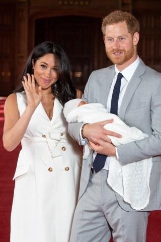 BRITAIN-ROYALS-BABY