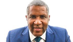 WASHINGTON, DC - AUGUST 23: Portrait of billionaire philanthrop