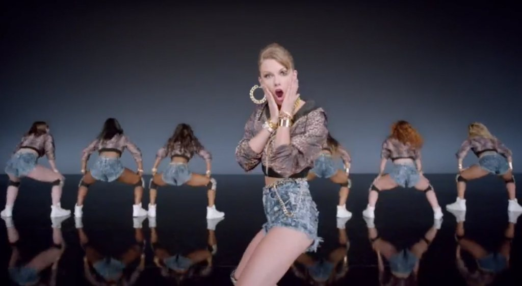 Taylor Swift's video for her new single ' Shake It Off'