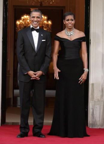 President Obama state visit to UK- Day Two