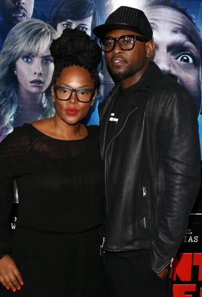Keisha Epps and Omar Epps