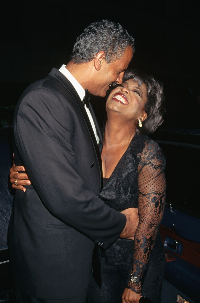 Stedman Graham and Oprah