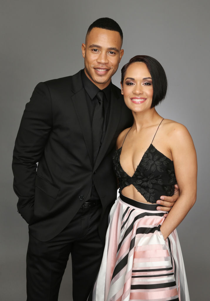 Trai Byers and Grace Gealey