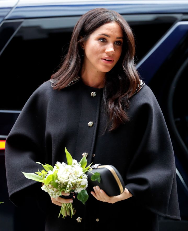 MEGHAN MARKLE HEADS TO SIGN A BOOK OF CONDOLENCE AT THE NEW ZEALAND HOUSE, 2019