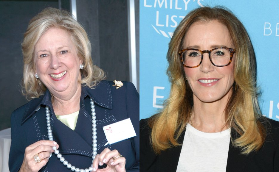 Felicity Huffman/ Linda Fairstein