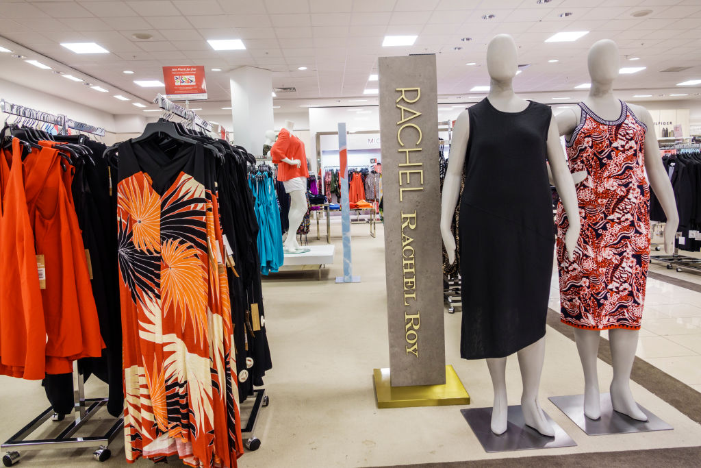 Florida, Jensen Beach, Macys Department Store Plus size clothing