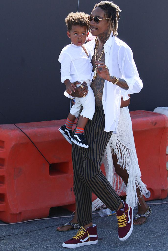 Wiz Khalifa and Sebastian Taylor Thomaz