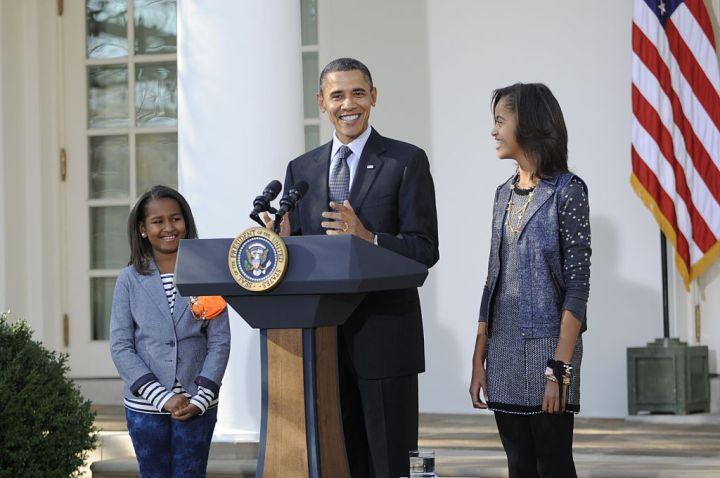 USA - Politics - President Obama Pardons the Thanksgiving Turkey
