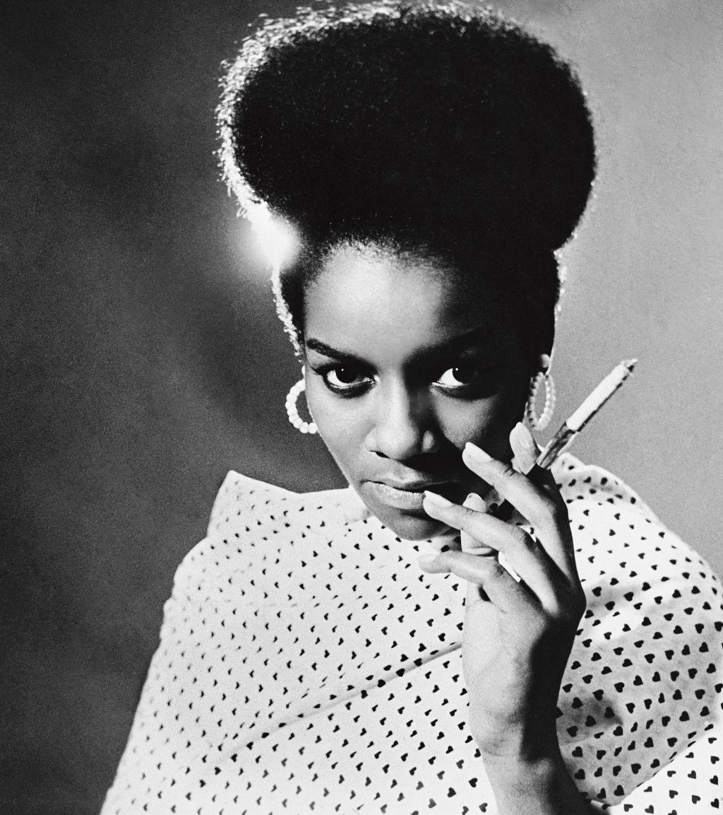 Kwame Brathwaite, Priscilla Bardonille, African Jazz-Art Society & Studios (AJASS), Harlem, ca. 1962; from Kwame Brathwaite: Black Is Beautiful (Aperture, 2019)