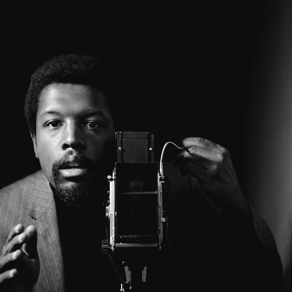 Kwame Brathwaite, Self-portrait, African Jazz-Art Society & Studios (AJASS), Harlem, ca. 1964; from Kwame Brathwaite: Black Is Beautiful (Aperture, 2019)