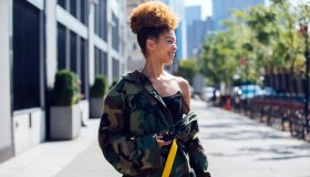 New York Fashion Week - Street Style - Day 1