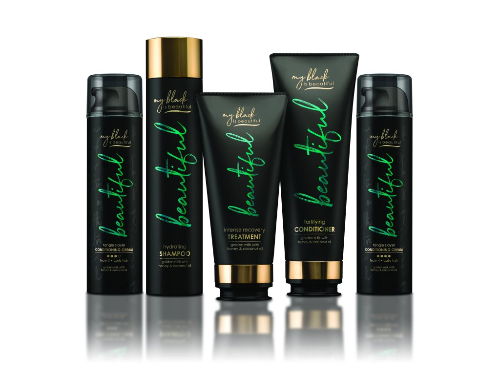 My Black Is Beautiful Haircare Line