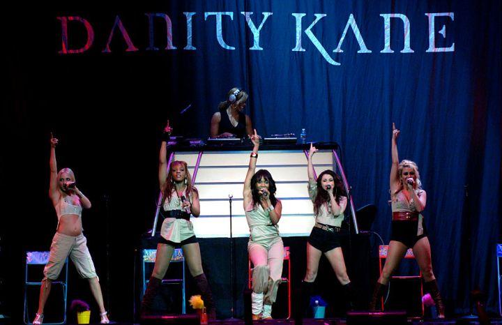 USA - Danity Kane Perform in San Jose