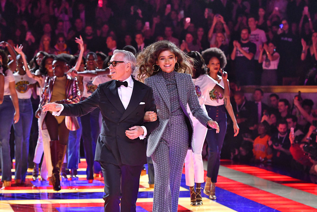 Tommy Hilfiger TOMMYNOW Spring/Summer 2019 : TommyXZendaya Premieres - Runway At The Theatre Des Champs Elysees In Paris
