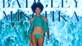 Badgley Mischka Swimwear 2020 Collection Runway Show - Paraiso Miami Beach