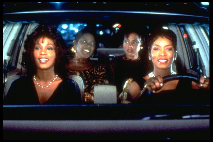 FILM 'WAITING TO EXHALE' BY FOREST WHITAKER