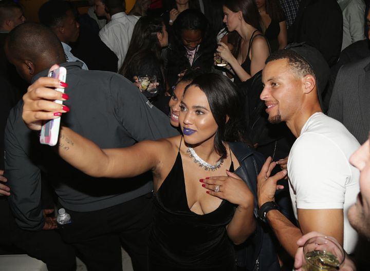 Ayesha Curry and Stephen Curry