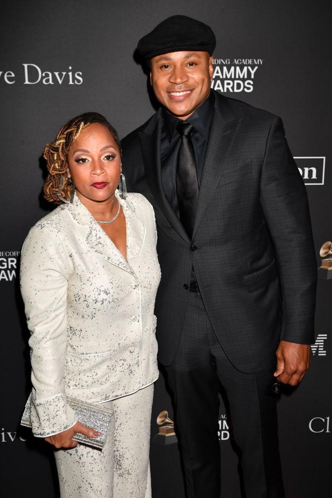 LL Cool J and Simone Smith