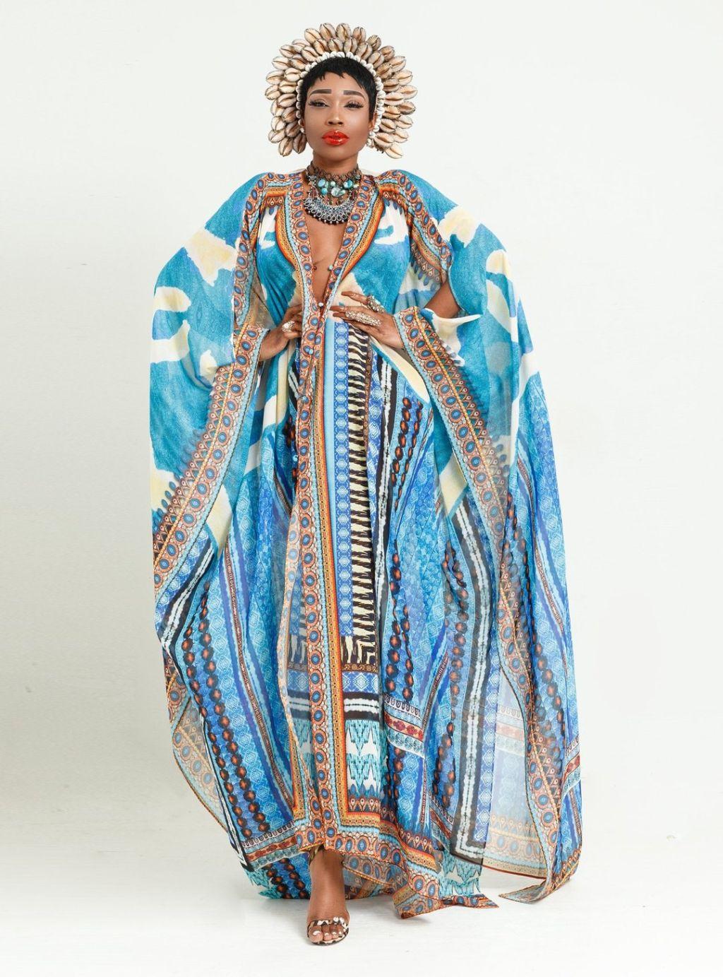 Maldives Goddess Kaftan