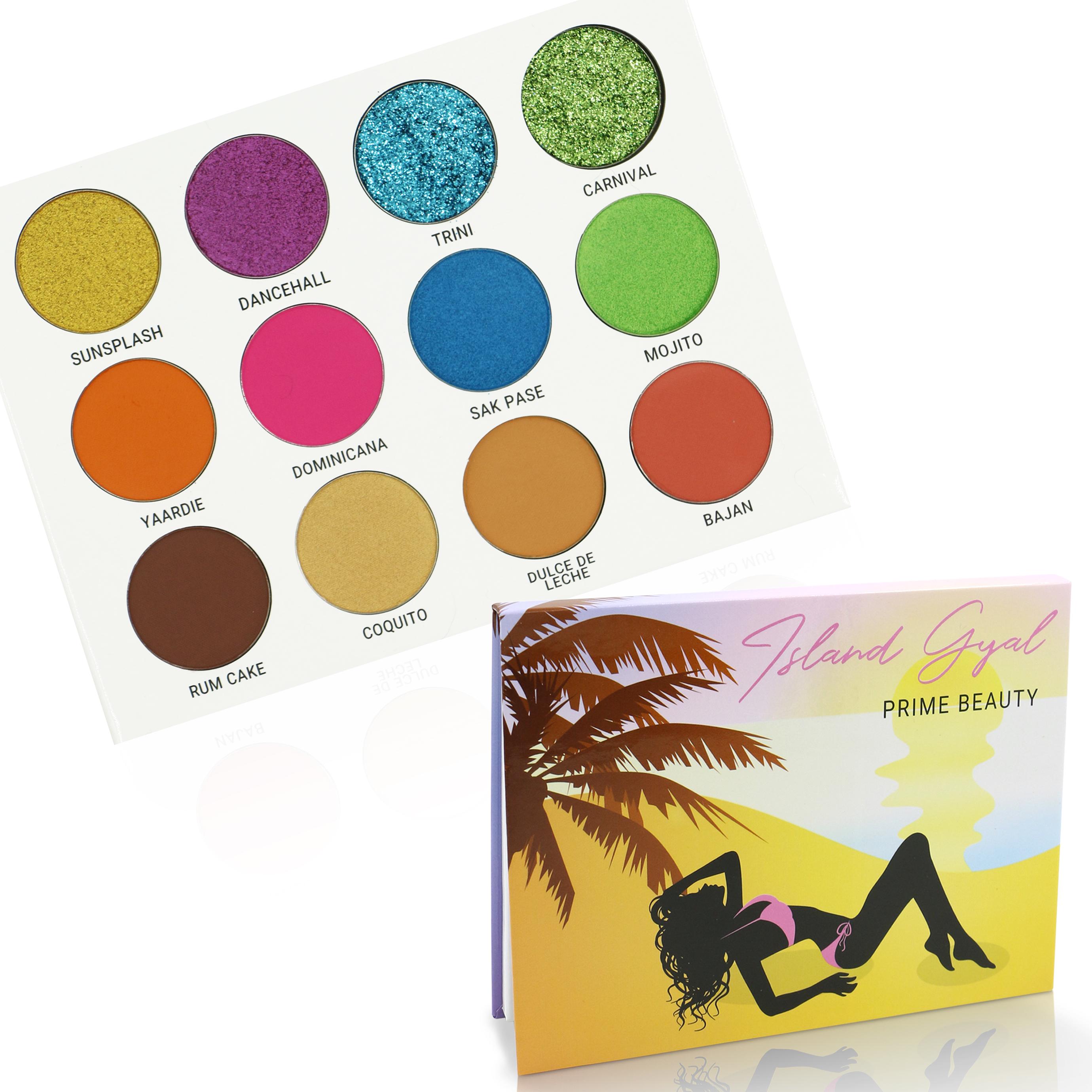 Prime Beauty Cosmetics Island Gal Eyeshadow Palette