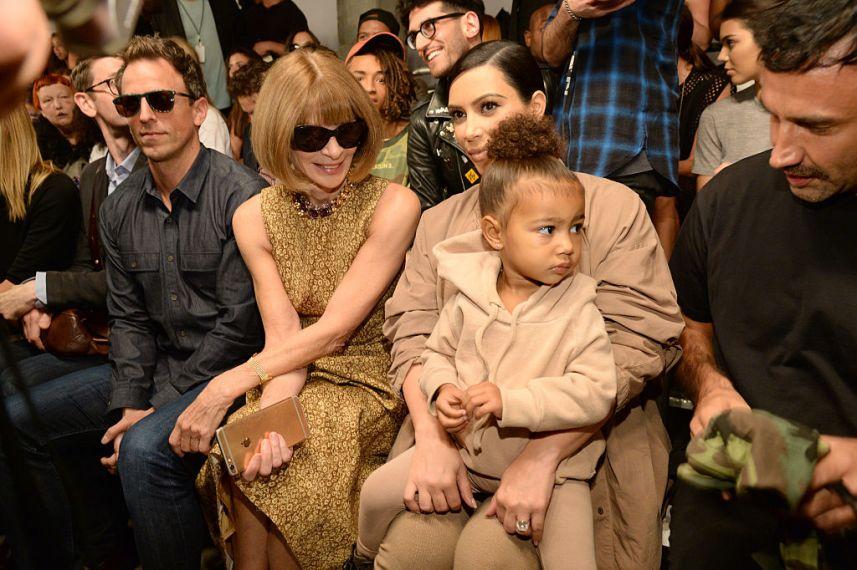 Kanye West Yeezy Season 2 - Front Row