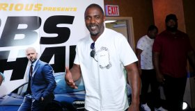 """Fast & Furious Presents: Hobbs & Shaw"" Screening Hosted By Idris Elba And Angie Martinez"