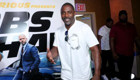 """""""Fast & Furious Presents: Hobbs & Shaw"""" Screening Hosted By Idris Elba And Angie Martinez"""