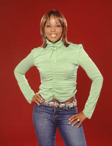 Mary J. Blige Portrait Session