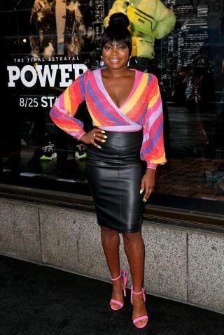 "Cast Of ""Power"" Celebrates Saks Fifth Avenue Window For Final Season"