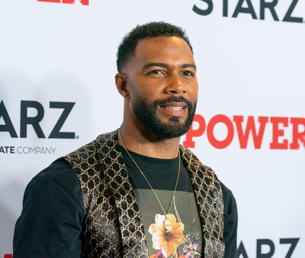 Omari Hardwick attends STARZ Power Season 6 premiere at...