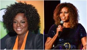 Viola Davis/ Michelle Obama