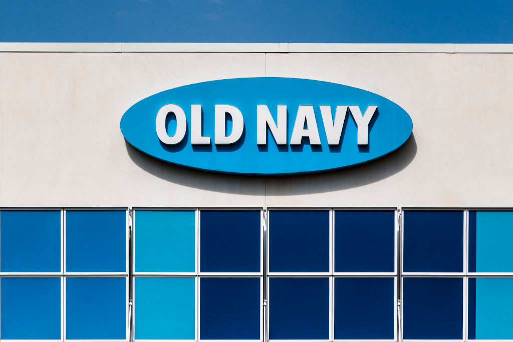 Old Navy store exterior...