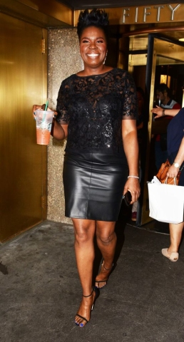 Celebrity Sightings in New York City - July 26, 2018