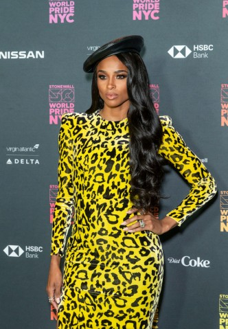 Ciara attends the WorldPride Opening Ceremony Benefit...