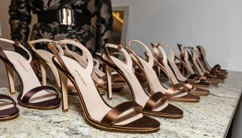 Salone Monet Shoes On Display At NYFW