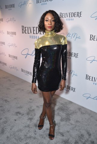 "Belvedere Vodka x Janelle Monáe Celebrate The Launch Of ""A Beautiful Future"" Limited Edition Bottle In New York"