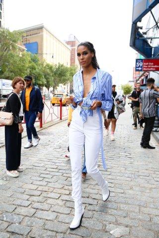 Street Style - New York Fashion Week September 2019 - Day 4
