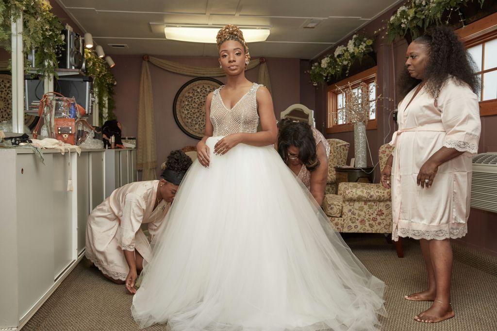 Bride in Pantora Bridal