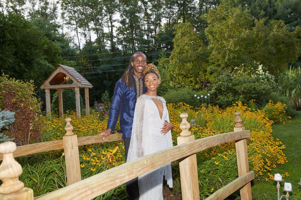 Black Bride in Pantora Bridal