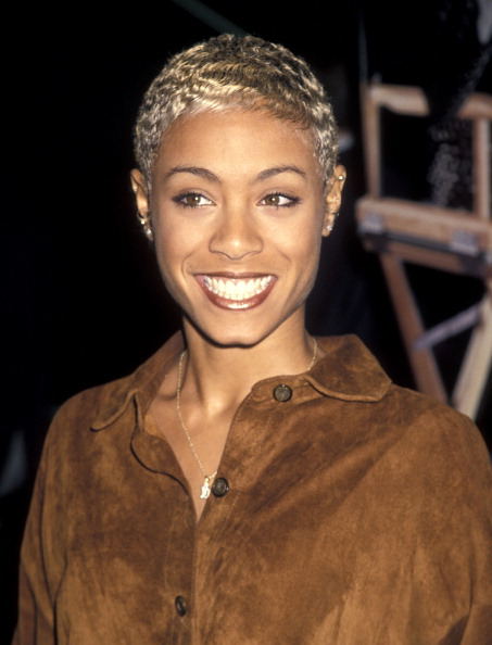 """Jada at the 1995 premiere of """"Tales from the Crypt: Demon Knight"""""""