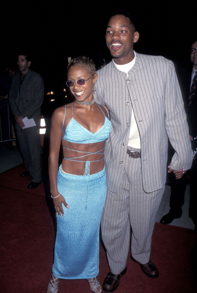 """Will and Jada at the """"Devil in a Blue Dress"""" Premiere"""