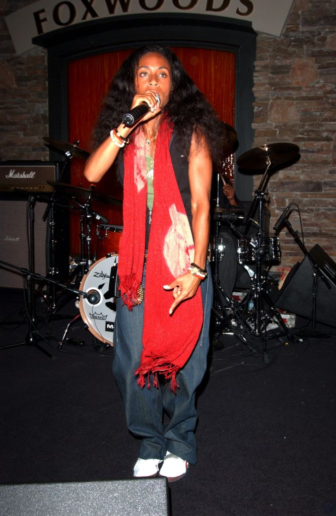 Jada at the Hard Rock Cafe opening