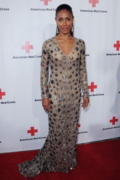 Jada at the Santa Monica Red Cross Red Tie Affair Fundraiser Gala