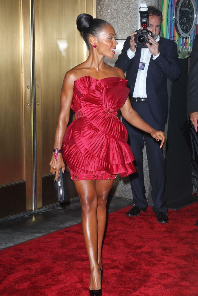 Jada at the 2010 Tony Awards