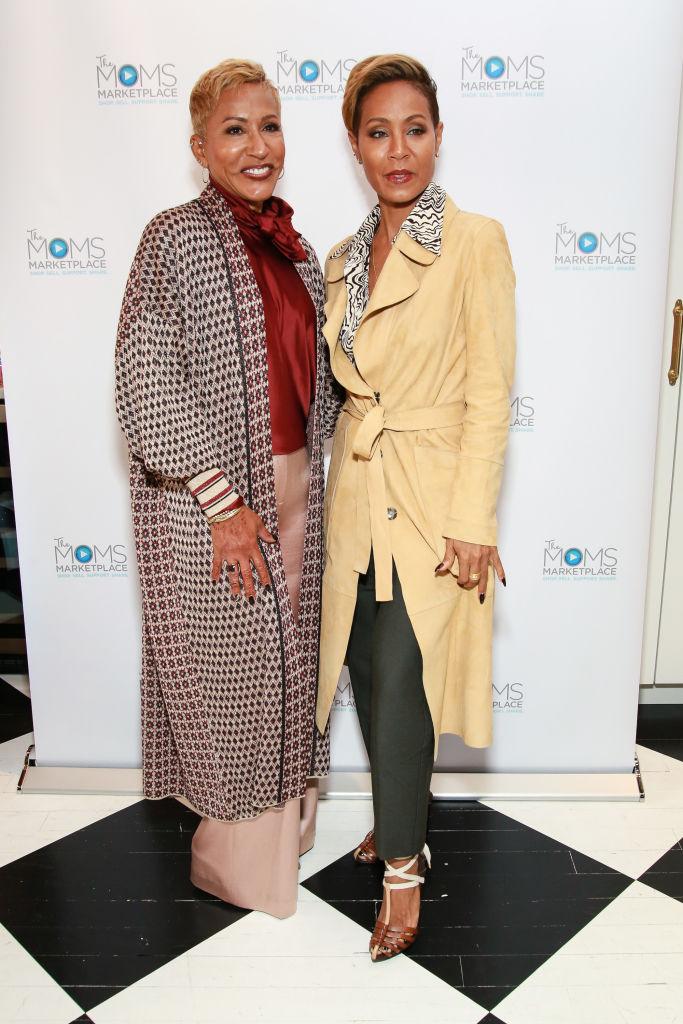 Jada and her mother Adrienne Banfield-Jones