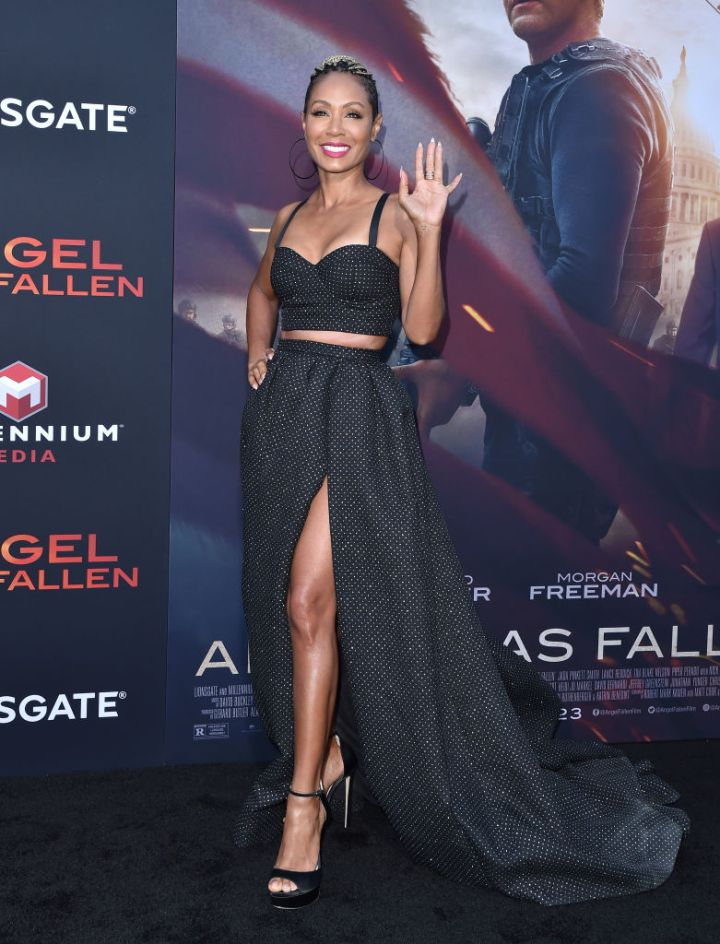"""Jada at the Premiere Of Lionsgate's """"Angel Has Fallen"""""""